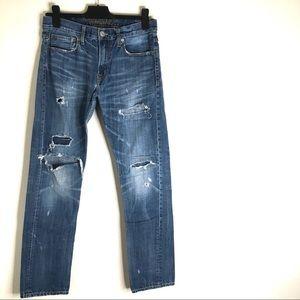 AEO Slim Work Jeans